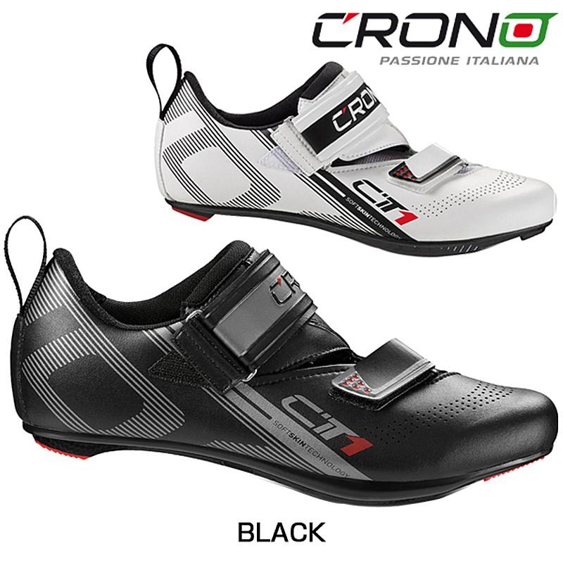CRONO(クロノ) CT-1 NYLON (CT-1ナイロン)SPD-SLビンディングシューズ[ロードバイク用][サイクルシューズ]