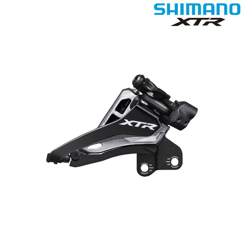 SHIMANO XTR(シマノXTR) FD-M9100-E Eタイプ(BBプレートなし) サイドスイング 2×12S[ワイヤー用][フロントディレーラー]