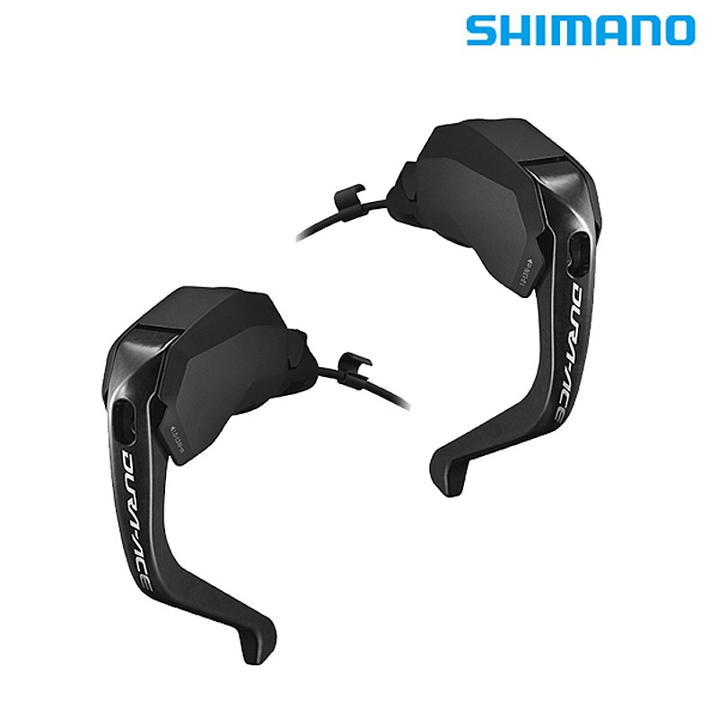 SHIMANO DURA-ACE(シマノ デュラエース) ST-R9180 左右レバーセット 2x11S TT/Di2/ハイドローリック ホース/オイル付属[ブルホーン・エアロバー用][ブレーキレバー]