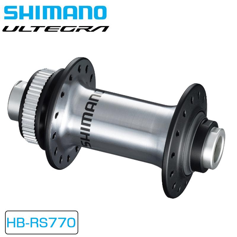 SHIMANO ULTEGRA(シマノ アルテグラ) HB-RS770 OLD:100mm/12mmEスルー センターロック [パーツ] [ロードバイク] [ハブ]