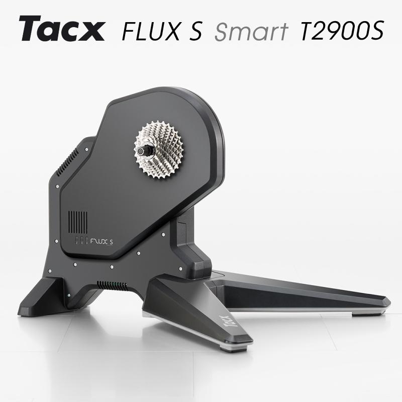 Tacx(タックス) FLUX S SMART (フラックスSスマート)T2900S ダイレクトドライブ式ローラー台 [ローラー台] [ロードバイク] [固定ローラー] [ダイレクトドライブ]