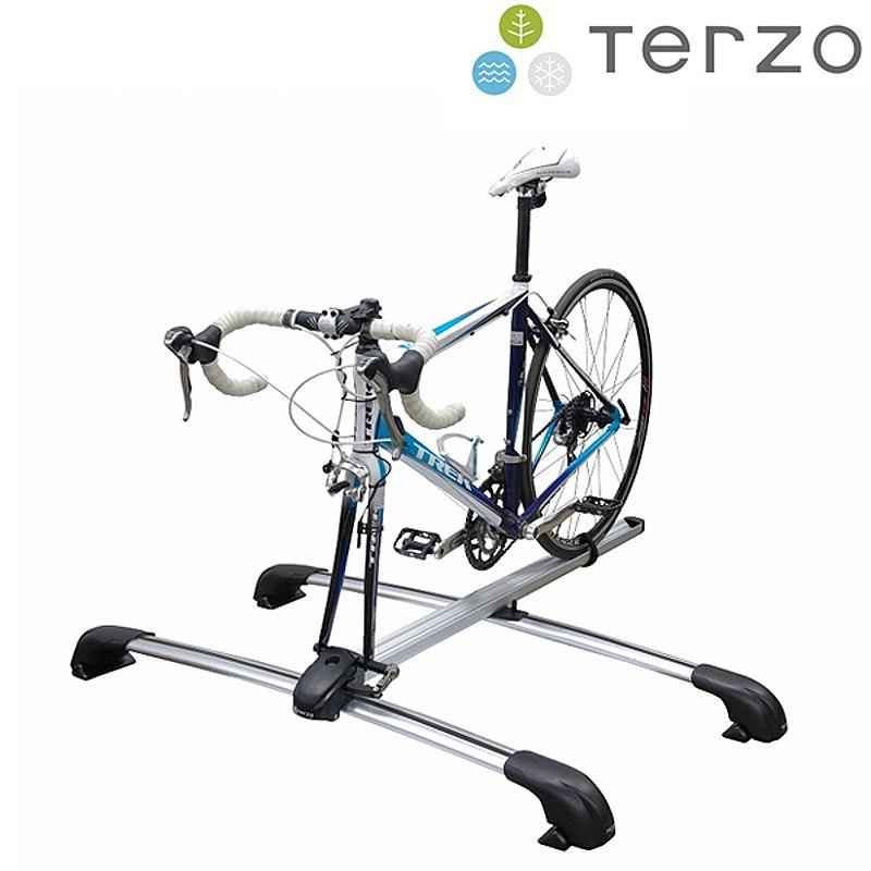TERZO(テルッツオ)EC-21SAサイクルキャリア[サイクルキャリア][ルーフ][ロードバイク][MTB]