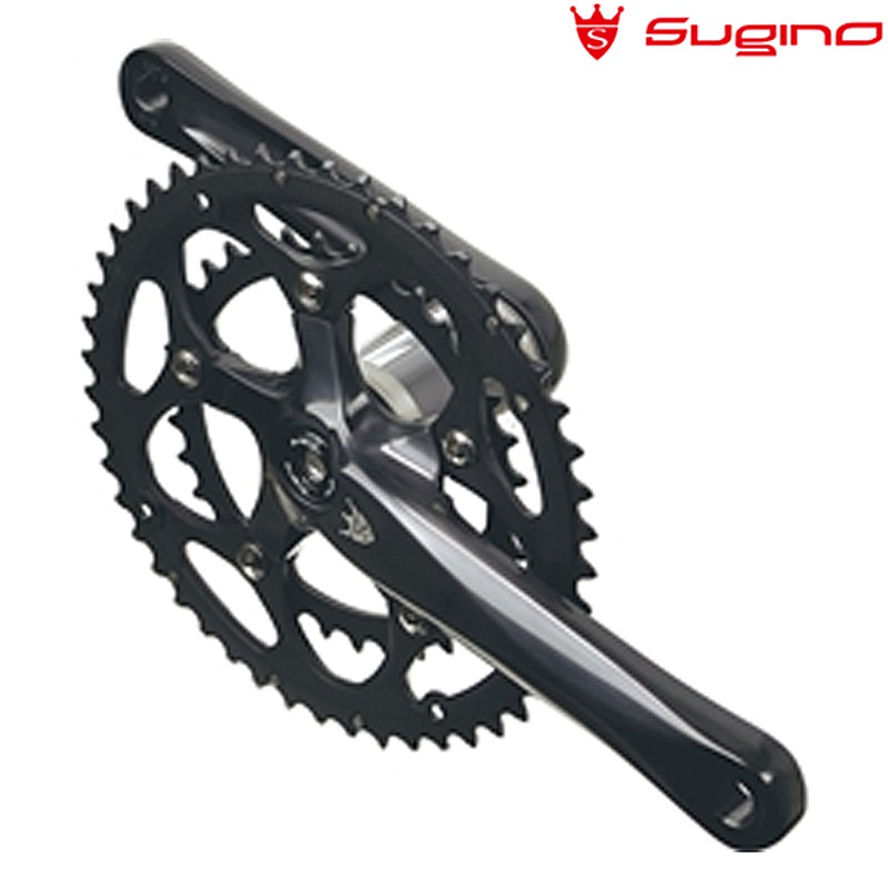 SUGINO(スギノ) EXP110 601D ブラック w/PF30ST[クランクセット][クランク・チェーンホイール]
