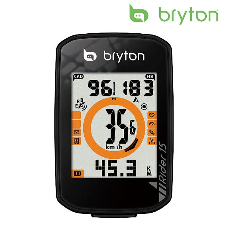 bryton(ブライトン) RIDER 15C (ライダー15C)ケイデンスセンサー付 [サイクルコンピューター] [サイコン] [サイクルメーター] [GPS]