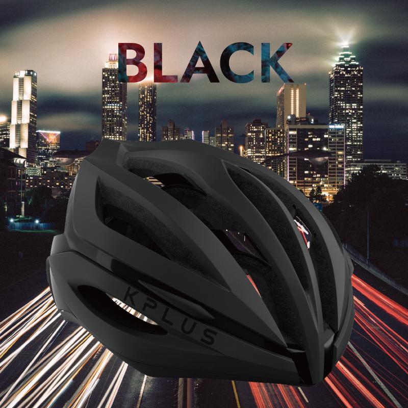 《即納》【土日祝もあす楽】KPLUS (ケープラス) SUREVO (シュレーヴォ)ロードバイク用ヘルメット BLACK S006[一般][バイザー無し]