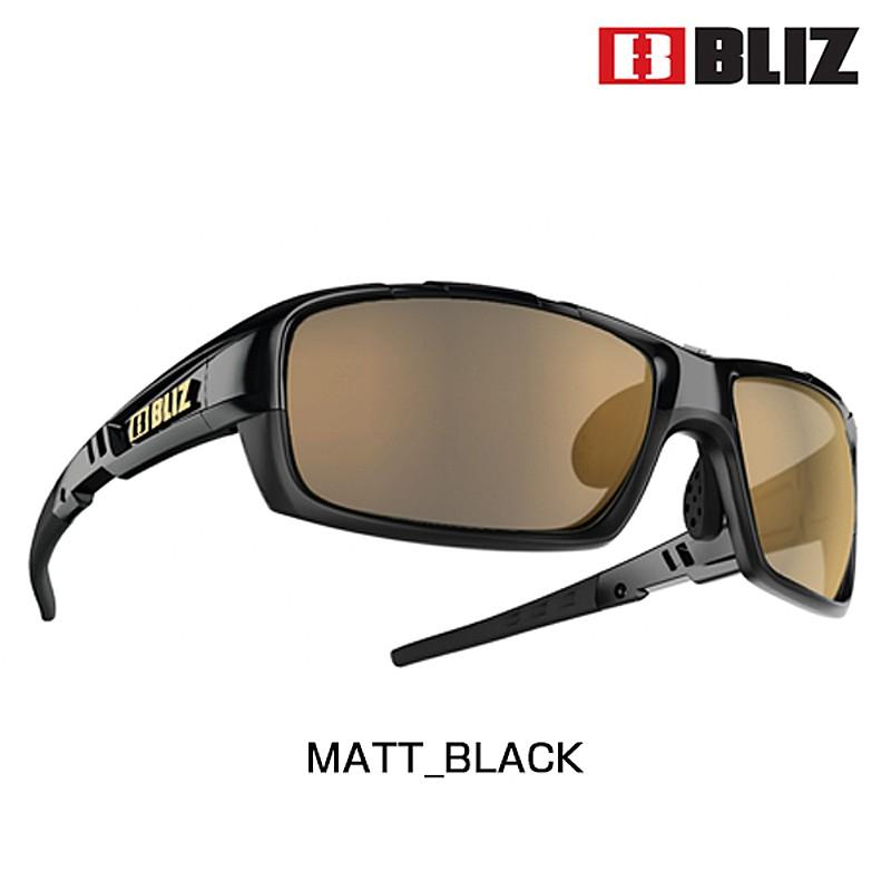 BLIZ(ブリス) TRACKER (トラッカー)LENS: BROWN POLARIZED WITH GOLD MULTI 9020-15[偏光レンズ][サングラス]