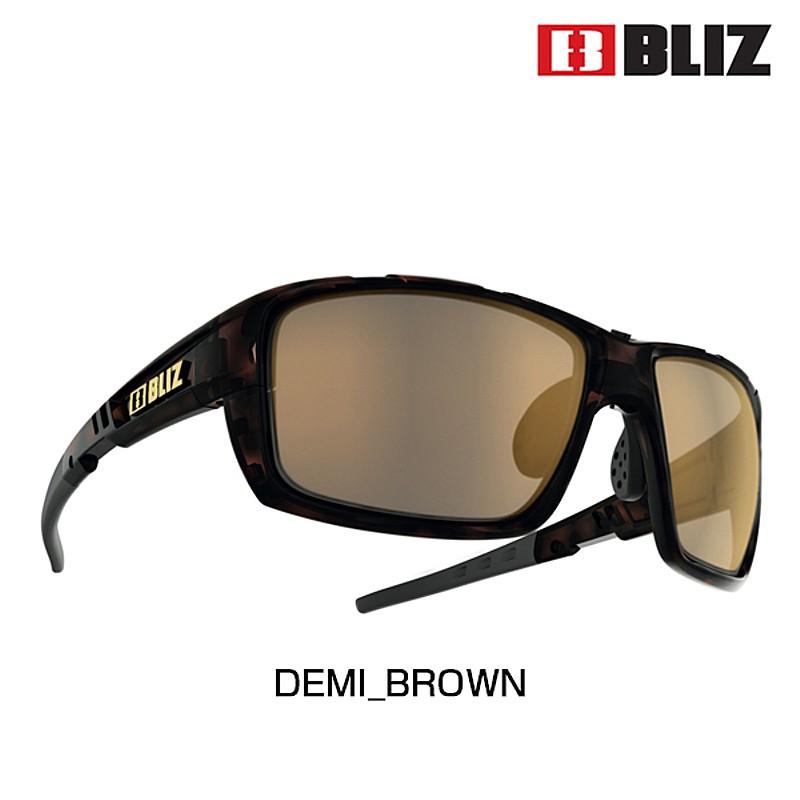 BLIZ(ブリス) TRACKER OZON (トラッカーオゾン)LENS: BROWN POLARIZED WITH GOLD MIRROR 9024-25[偏光レンズ][サングラス]