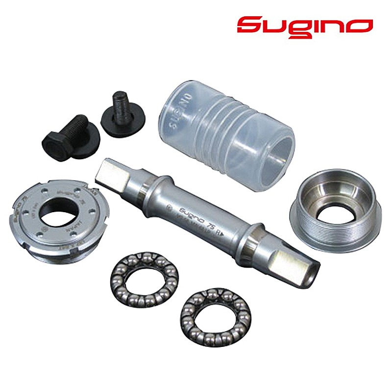 SUGINO(スギノ) SG75 BBセット SUPER LAP(スーパーラップ) NJS[ボトムブラケットBB][ピスト/トラック用]