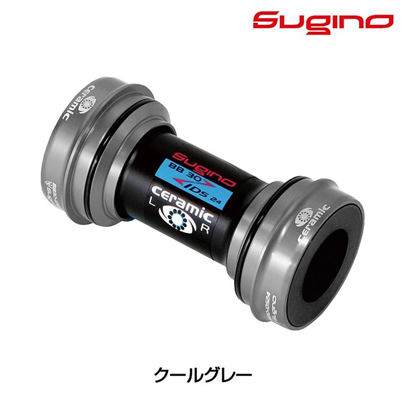 SUGINO(スギノ) BB30-IDS24 スーパーセラミック クールグレー[本体][ボトムブラケットBB]