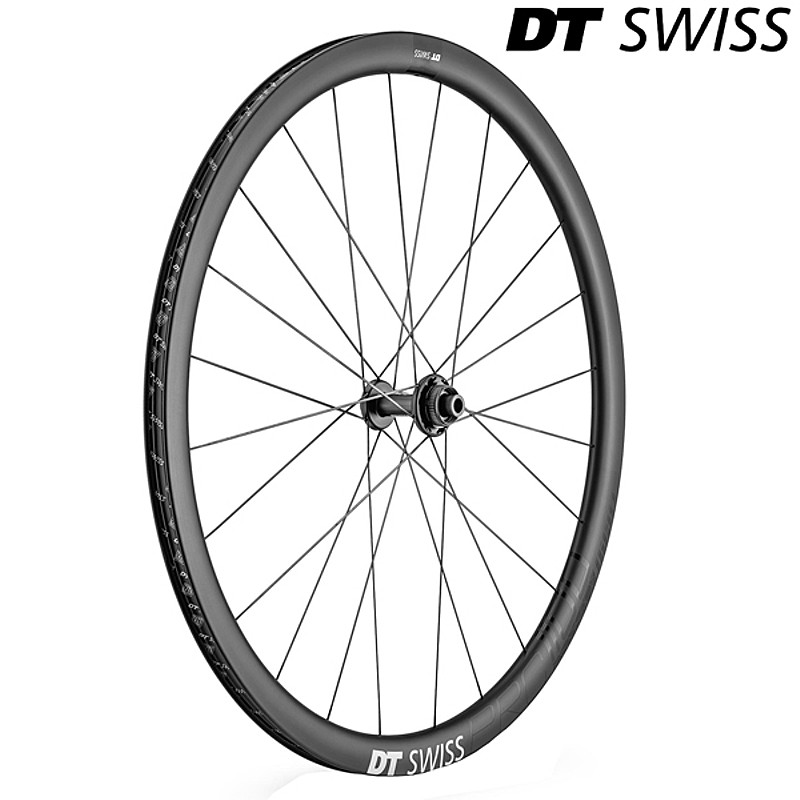 DT SWISS(ディーティー・スイス) PRC1100ダイカット35 前後セット ディスク用 11速用[ディスクブレーキ対応][ロード用]