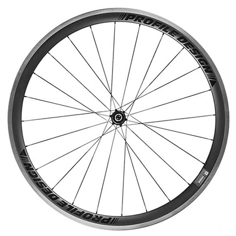 PROFILE DESIGN(プロファイルデザイン) 38 TWENTYFOUR II(V2)カーボンクリンチャー R W38242CCR1 [ホイール] [ロードバイク] [エアロ] [ディープリム]