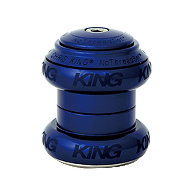 CHRIS KING(クリスキング) 1-1/8 NOTHREADSET GL BOLD NAVY(ノースレッドセット)[ヘッドパーツ][ハンドル・ステム・ヘッド]