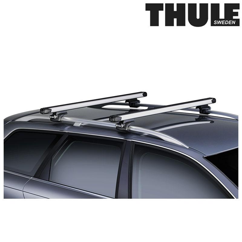 THULE(スーリー) TH891 SLIDE BAR (TH891 スライドバー) 2PC[自転車][本体][ルーフキャリア]