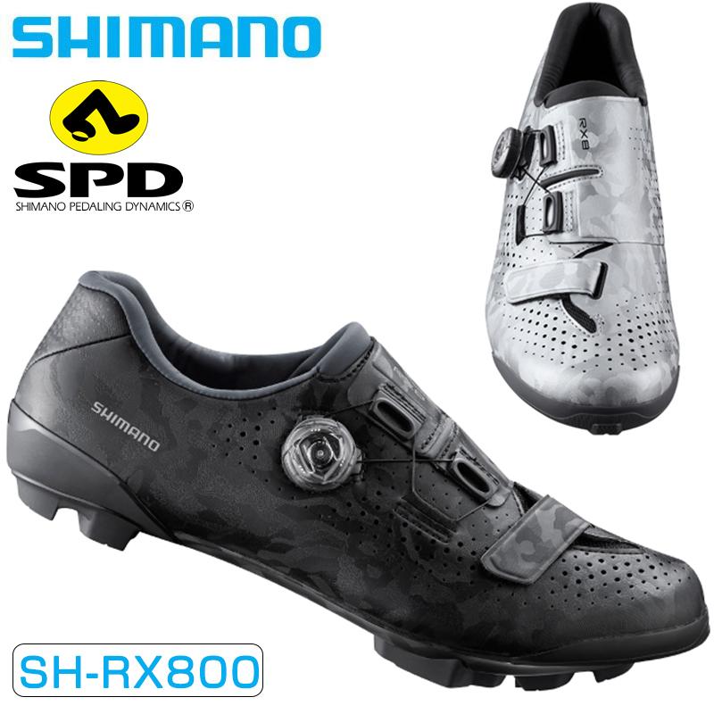 SHIMANO(シマノ) 2020年モデル RX8 SPDペダル用SPDビンディングシューズ 限定モデル SH-RX800[クリップレス][マウンテンバイク用]