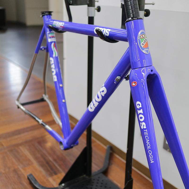 【BIKOTのバックパックプレゼント対象商品】GIOS(ジオス) 2020年モデル TITANIO FRAMESET (チタニオフレームセット)[ロードバイク][フレーム・フォーク]