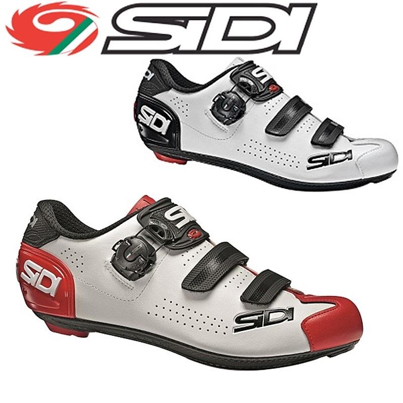 【お盆も営業中】SIDI(シディ) 2020年モデル ALBA2(アルバ2)ロードバイク用 SPD-SLビンディングシューズ ホワイトカラー [サイクルシューズ] [サイクリング] [ロードバイク]