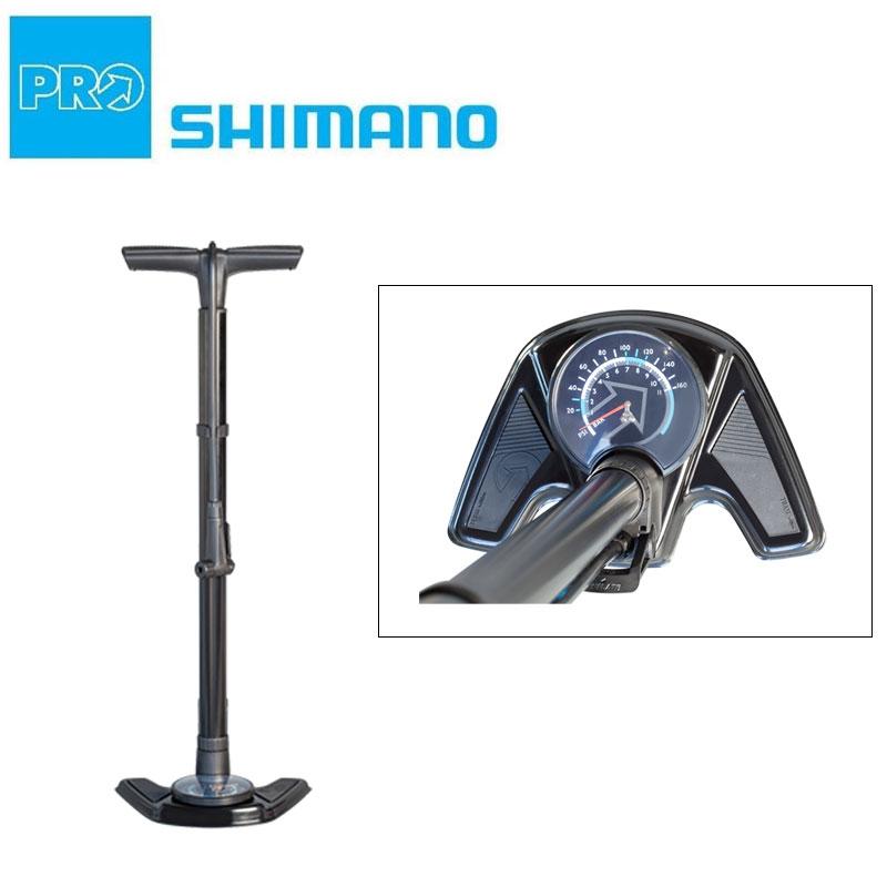 《即納》【5月25日限定!エントリーでポイント最大14倍】SHIMANO PRO(シマノ プロ) 2020年モデル フロアポンプ チーム チューブレス [空気入れ] [フロアポンプ] [ロードバイク] [クロスバイク]