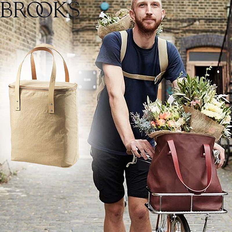BROOKS(ブルックス) CAMDEN TOTE BAG LINEN (カムデントートバッグリネン)[自転車・バッグ] [バッグ] [ドライバッグ] [モバイルポーチ] [トートバッグ]