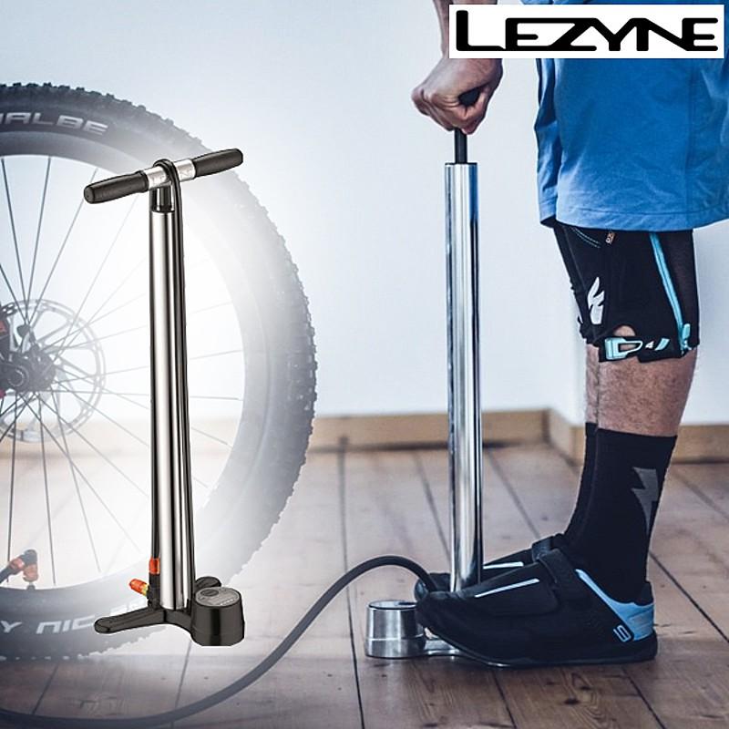 LEZYNE(レザイン) DIGITAL OVER DRIVE (ディジタルオーバードライブ)フロアポンプ 空気入れ[自転車ポンプ][フロアポンプ][ポンプ・空気入れ]