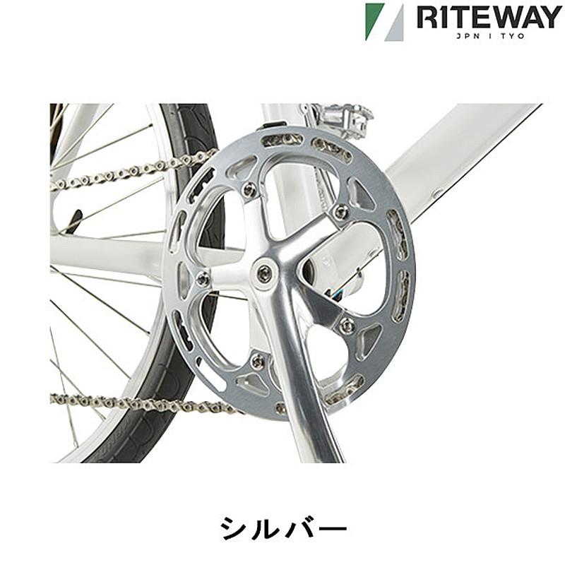 RITEWAY(ライトウェイ) 2019シェファード24SL用クランク44T [自転車クランク][クランクセット][クランク・チェーンホイール]