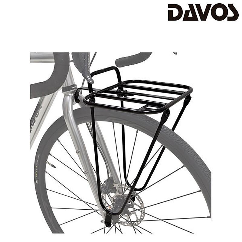 フロントキャリア MTB ロードバイク クロスバイク ダヴォス FR-1 DAVOS 送料無料 フロントラック 送料無料/新品 土日祝も営業 卸直営 あす楽