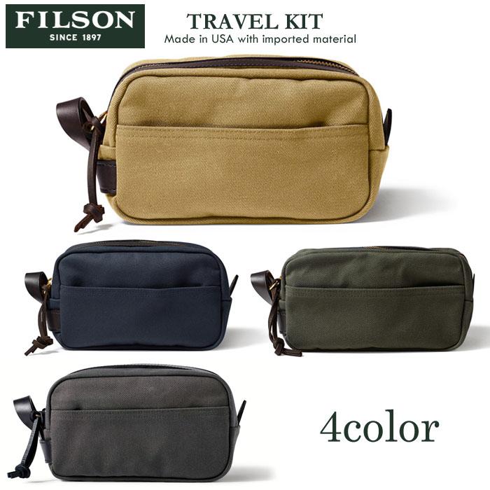\再入荷/FILSON(フィルソン) トラベルキット用ポーチ TRAVEL KIT 11070218