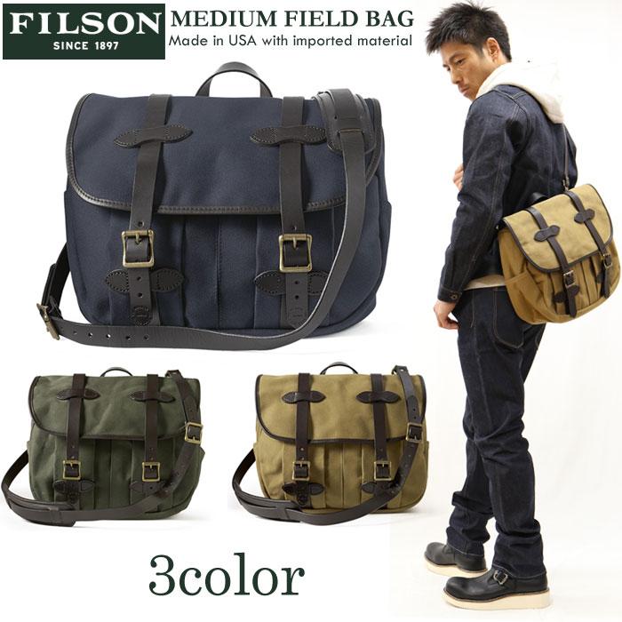 FILSON(フィルソン) ミディアムフィールドバッグ MEDIUAM FIELD BAG ショルダーバッグ 11070232
