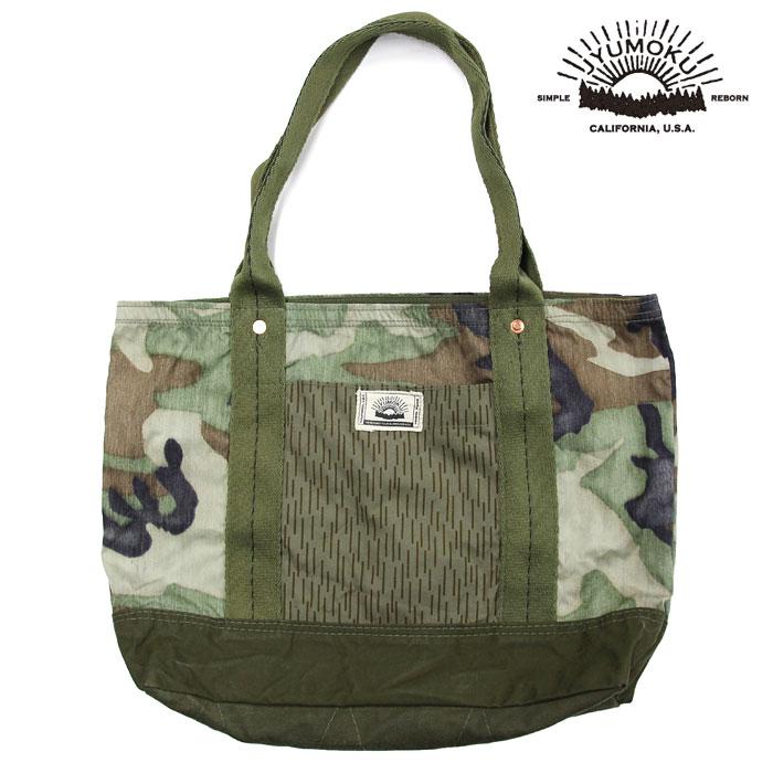 JYUMOKU ジュモク リメイクトートバッグ 鞄 カモフラ柄 迷彩 tb4096