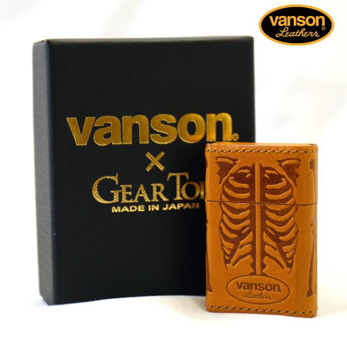 VANSON×GEAR TOP バンソン レザーボーンライター v-gt-02