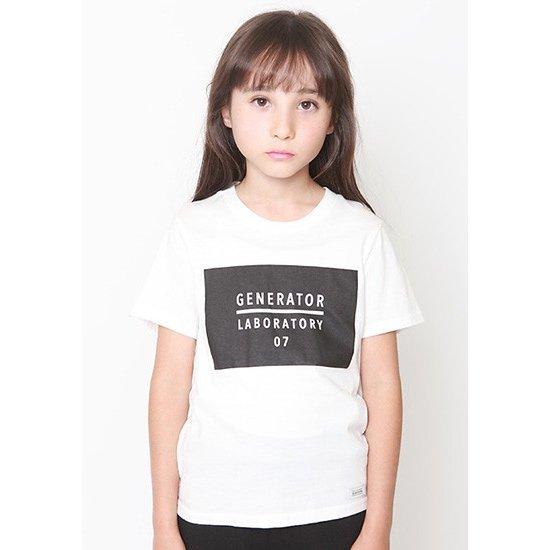 日本製 子供服ジェネレーター 子供服generator PT-Tシャツ 在庫限り 激安通販 プリントTシャツ 07 100cm 110cm 50%OFF 130cm ホワイト 120cm 140cm