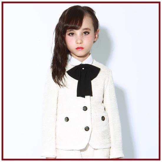 ジェネレーター 20%OFF SALE generator ジェネレータースーツ 子供服 ノーカラージャケット(110cm/120cm/130cm)子供服 入学式(056103) 入学式 スーツ 女の子 入学式 子供服 女の子 フォーマル 女の子 スーツ