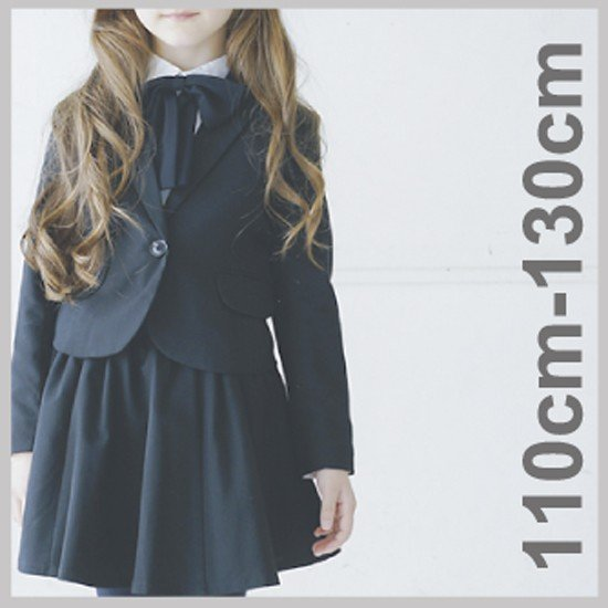 保障 ジェネレーター 子供服 スーツ 贈り物 入学式 女の子 入学式スーツ フォーマル ガールズスリムフィットテーラードジャケット GIRLS 110-140cm generator 1B 076101