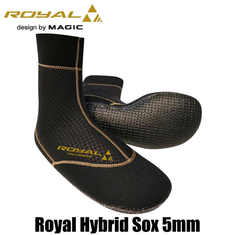 MAGIC ROYAL HYBRID SOX 5mm マジック ロイヤル ハイブリッド ソックス ジャージ サーフ サーフィン サップ SUP SURF セミドライ マリンスポーツ BEWET サンコー ドライ サーフブーツ ブーツ スピードスター ウェット 5ミリ 真冬 ウィンター AG Titan105