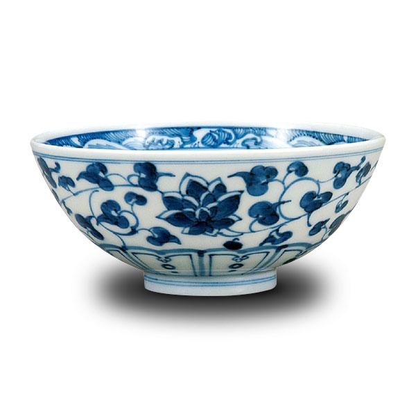 【九谷焼】飯碗 唐草<九谷焼 和食器 鉢 小鉢 人気 ギフト セット 贈り物 結婚祝い/内祝い/お返し>