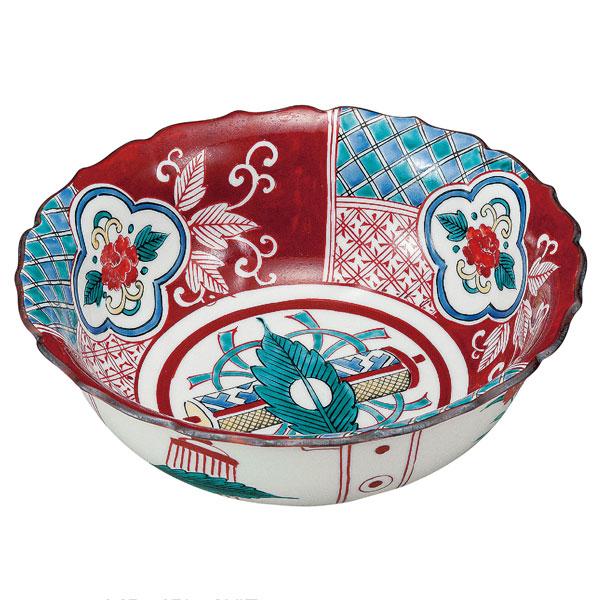 【九谷焼】 7.5号 鉢 赤絵<九谷焼 和食器 鉢 小鉢 人気 ギフト セット 贈り物 結婚祝い/内祝い/お返し>