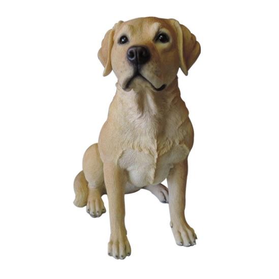 愛らしい犬のオブジェ ラブラドール・レトリバー