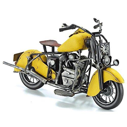 ブリキのおもちゃ(motorcycle yellow)