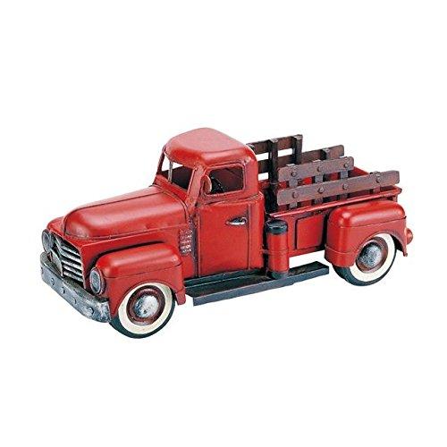 ブリキのおもちゃ(pickup red)