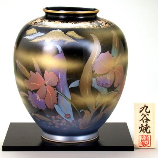 九谷焼 8号花瓶 カトレア<ギフト プレゼント 新築祝い 退職祝い 父の日 母の日 誕生日 敬老の日 結婚式 海外土産>