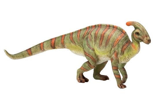 ガーデニングに最適。お店のディスプレーやお庭のオーナメントに ポリレジン恐竜シリーズ パラサウロロフス Parasaurolophus