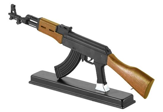 【ギフト包装賜ります】 TSSフォーチュン AK-47 中国56式サブマシンガン 模造(美術装飾)品<インテリア 観賞用 コスプレ インスタ>