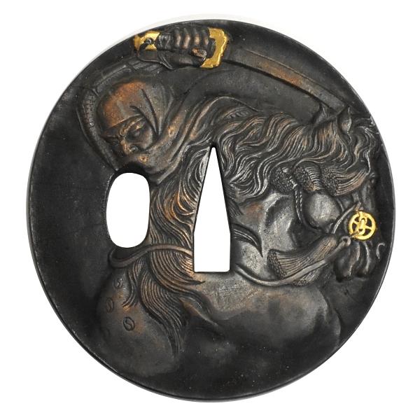 HANWEI (ハンウェイ)社製 銅鍔コレクション 1152-GT 上杉謙信