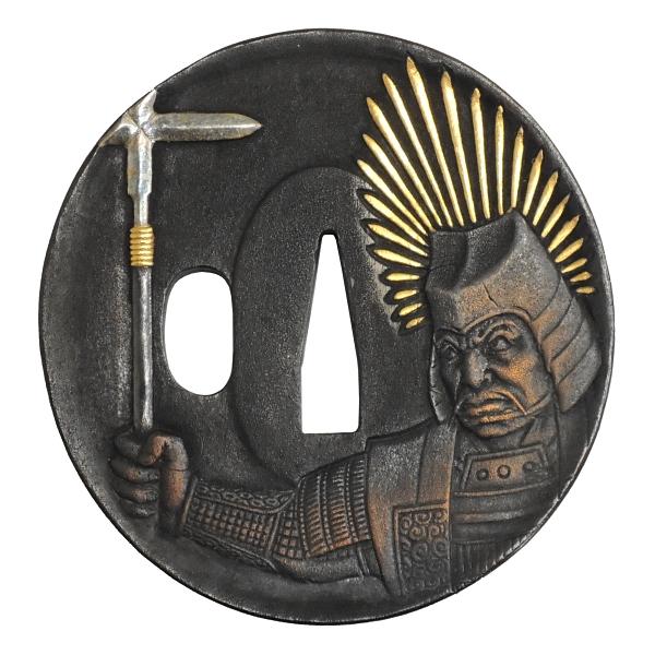 HANWEI (ハンウェイ)社製 銅鍔コレクション 1154-GT 豊臣秀吉