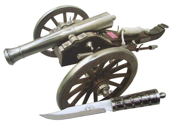マスターカット MASTERCUTLERY CAN-103 アメリカ南北戦争 南軍大砲<インテリア 観賞用 模様替え>