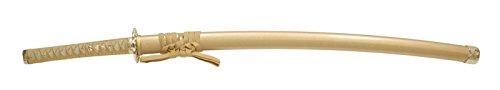 NEU-095 模造刀剣 合金刀身タイプ 戦国シリーズ・豊臣秀吉 黄金拵 大刀 【美術刀剣・模擬刀・コスプレ】