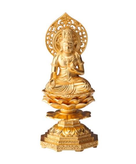 金箔仕様高さ約15cm 虚空蔵菩薩(うし・とら年生まれのお守り本尊)
