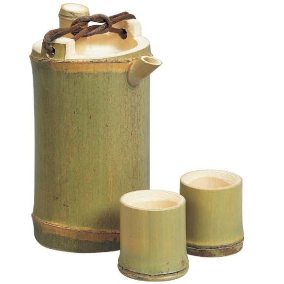 食器 陶器 陶磁器 買い取り 和食器 業務用食器 大幅にプライスダウン 民芸酒器 とっくり 山下工芸 Yamasita 青竹酒器 納期約1週間から3週間程掛かります 350cc ぐいのみ付 craft 日本製