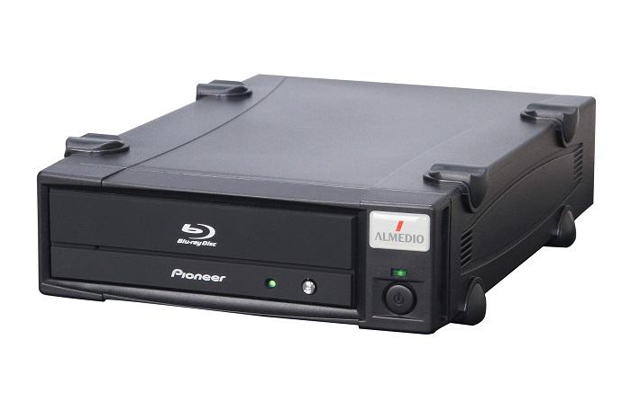 長期保存用BD記録ドライブ・型番:BDX-PR1MA-U・記録再生機・長期保存用光ディスクに対応・一般市販ディスクにも高品質記録・JIS Z 6017記録準拠・USB3.0外付けタイプ・短納期対応可