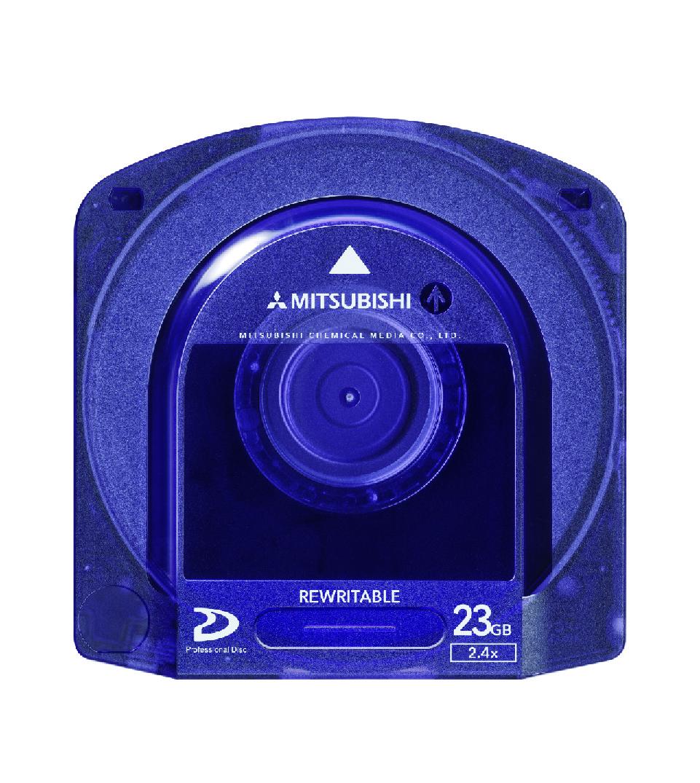 XDCAMシステム専用プロフェショナルディスク23GB(Professional Disc 23GB)・型番:PD023S・標準ケース・日本製・1箱5巻入り×10箱(合計50巻)