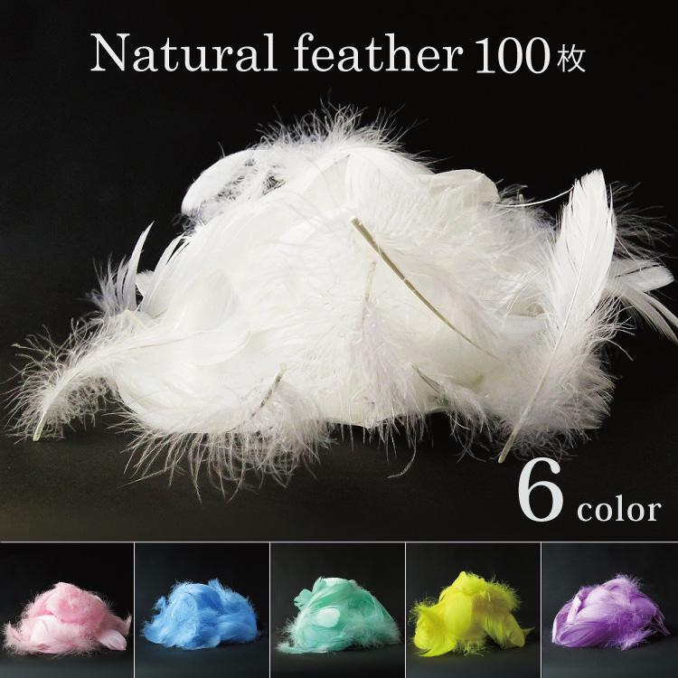 ふわふわの天然の羽を5色からお選びいただけます 丁寧に染色 洗浄されています フラワーシャワーとご一緒に フェザーシャワー 約100枚 セット ふわふわ NEW 軽い 演出 小物ハーバリウム ハンドメイド 天然 羽 結婚式 プロポーズ ウエディング かざりつけ たっぷり グース5色 DIY 誕生日 feather コキール メール便で送料無料 即出荷 パーティー